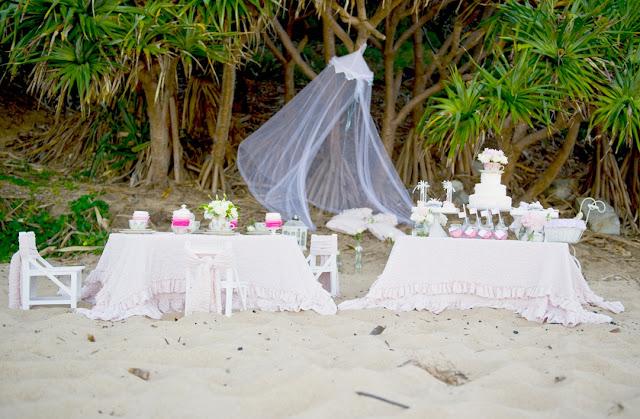 Kara 39 s party ideas high tea on the beach party kara 39 s for High tea party decorations