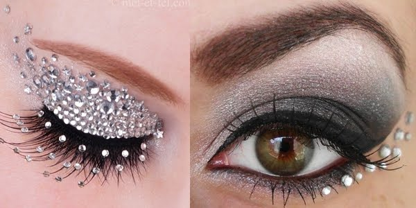 Crystal Eyes Makeup! Amazing Ideas!