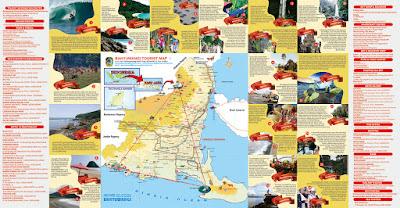 Peta Wisata Banyuwangi