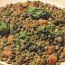 Espinaca con lentejas al curry