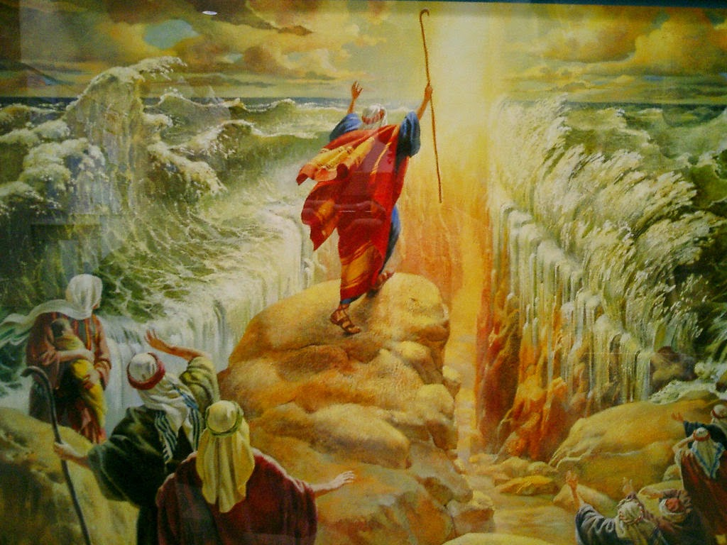The Miracle of the Red Sea Crossing and the 40 years in the wilderness.