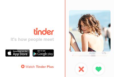 Descargar Tinder para encontrar pareja y amigos