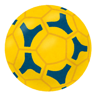 ハンドボールのボールのイラスト