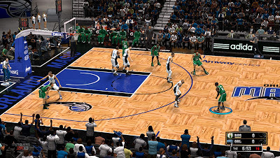 NBA 2K13 Amway Center Court Mod