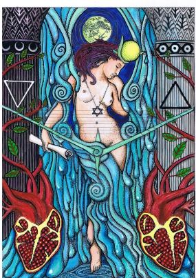 Le bouquet d'images - Page 3 The+Priestess+-+Tarot+M