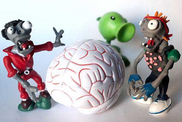 2x2x2 rubik zombie Brain Cerebros