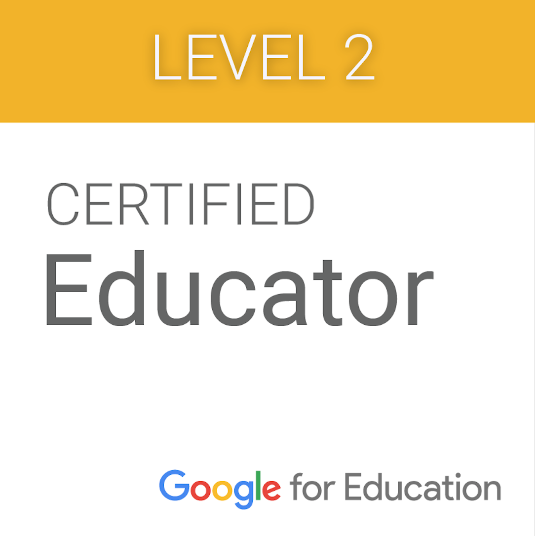 Google Educator Level 2 Badge