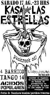Kasa las estrellas-Acidos Populares-Tango 14-4 Barrios