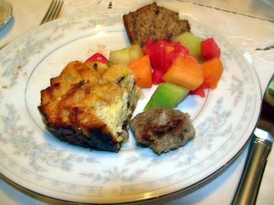 Divasofthedirt,asparagus egg bake, sausage