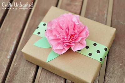 Flor de papel crepom passo a passo