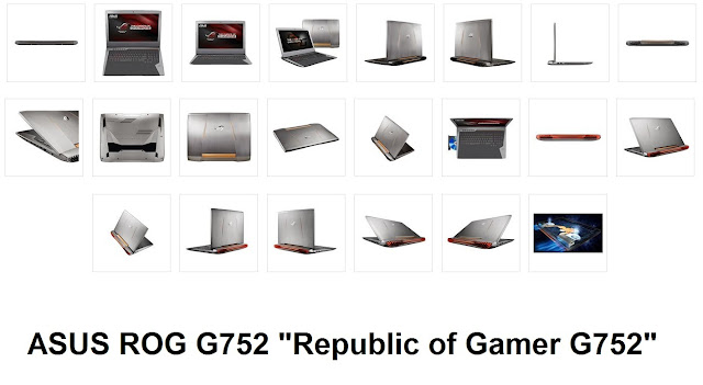 ASUS ASUS ROG G752 Channel Site