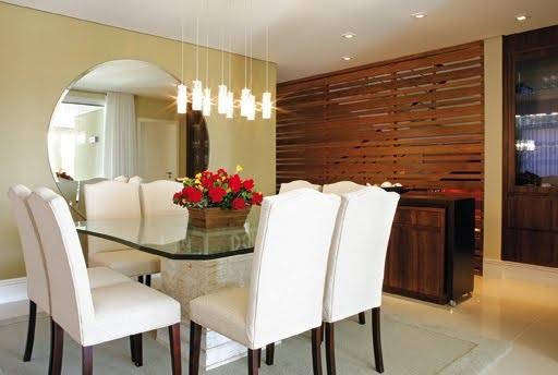 Parede De Vidro Em Sala De Jantar ~ Na sala de jantar você pode colocar espelhos nas paredes e se tiver
