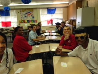 Speed dating in the language classroom