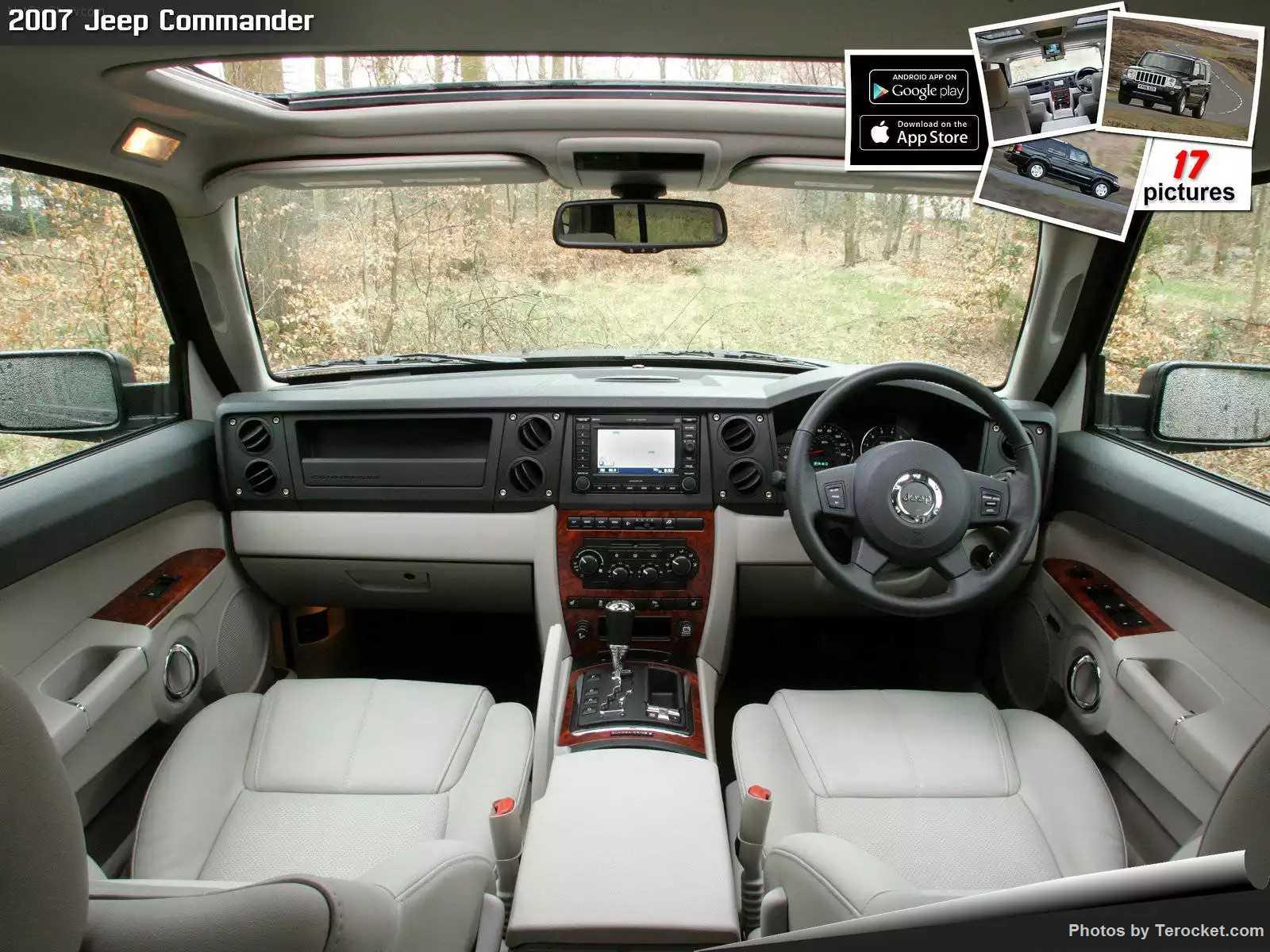 Hình ảnh xe ô tô Jeep Commander UK Version 2007 & nội ngoại thất