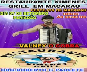 ABERTURA DOS FESTEJOS DE MACARAÚ