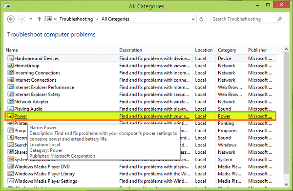How to Fix if Sleep Mode is Not Working in Windows 8.1
