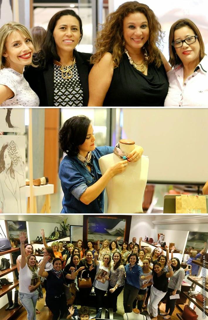 Blog da Jana, lenços, dicas, blogueira, blog de acessórios, Joinville, Capodarte, workshop, pashmina, cachecol, lenço, Workshop com lenços por Jana K.