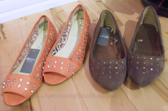 shoes, Reitmans, flats