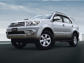 Toyota on Latest Cars Models  Toyota Fortuner