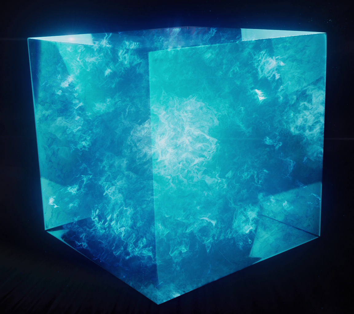 Cosmic Cube Marvel Tesseract from Captain America: The First Avenger