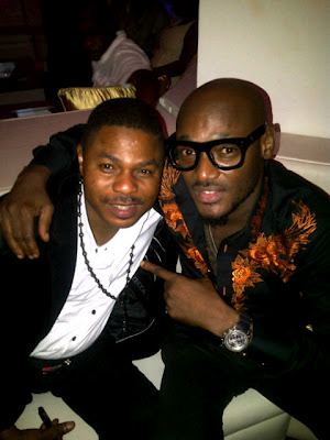 2face idibia and yinka ayefele