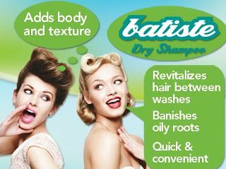 Batiste Dry Shampoo Ad