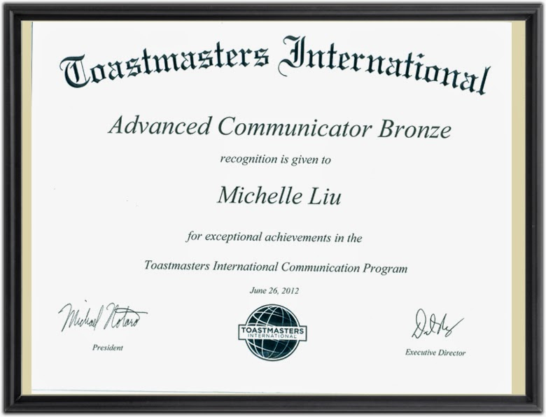 Advanced Communicator Bronze