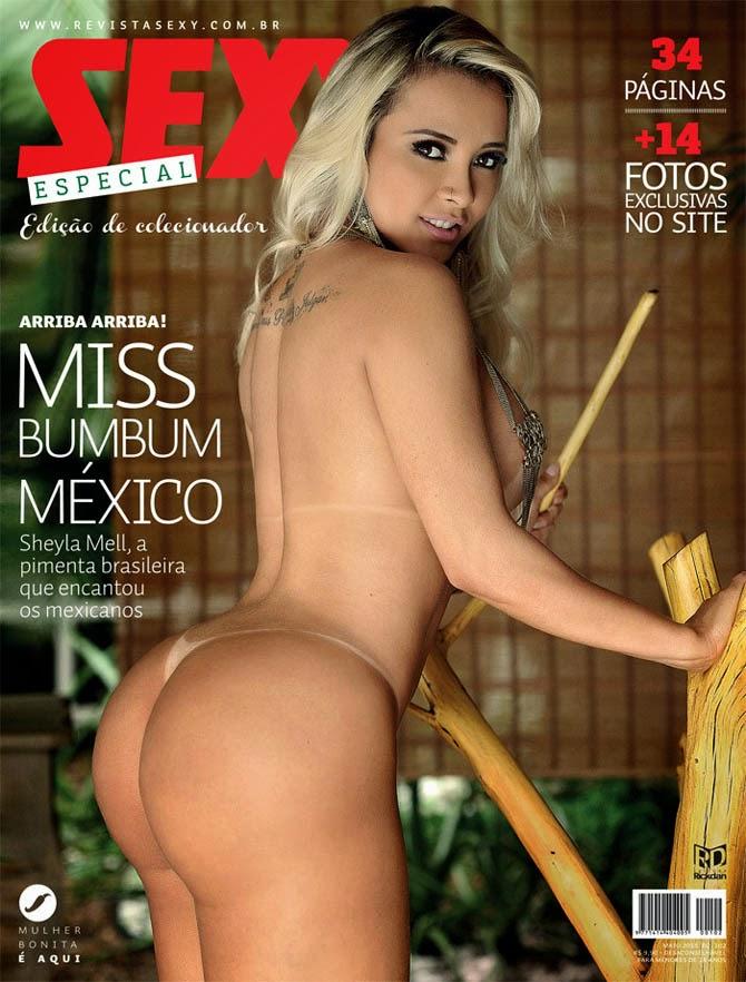 Subcelebridade da Semana: Sheyla Mell, ex-Tigresa do Funk que virou Miss Bumbum México