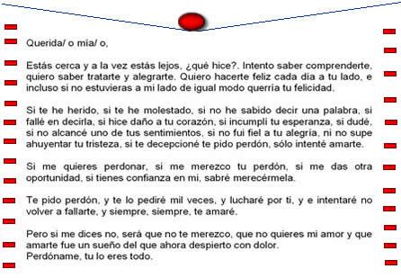 Carta De Amor A Mi Novia Pidiendo Perdon Mensajes Para Pedir