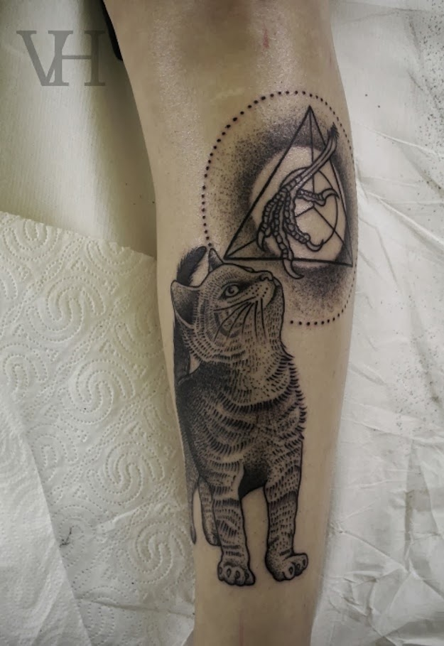 Yetaland cat tattoo