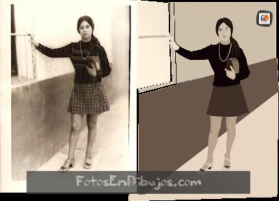 convertir foto antigua en dibujo