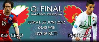 Prediksi Skor Republik Ceko vs Portugal | Perempat Final Euro 22 Juni 2012