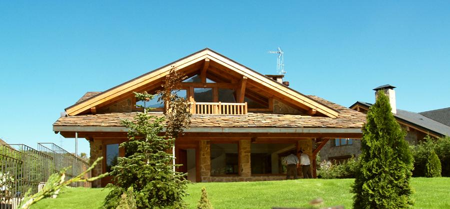 Casas modulares y prefabricadas de dise o casas de madera - Casas prefabricadas madera y piedra ...