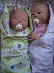 Preemie Twins Mitsy & Bitsy