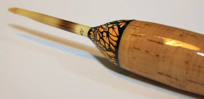 Porcupine Quill Pike Float Inlaid with amherst pheasant and kingfisher feathers