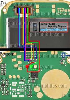NOkia111+110 LCD Display jumper ways Solution