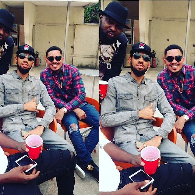 Phyno Hangs Out Slow Dog And Bracket (Photo)