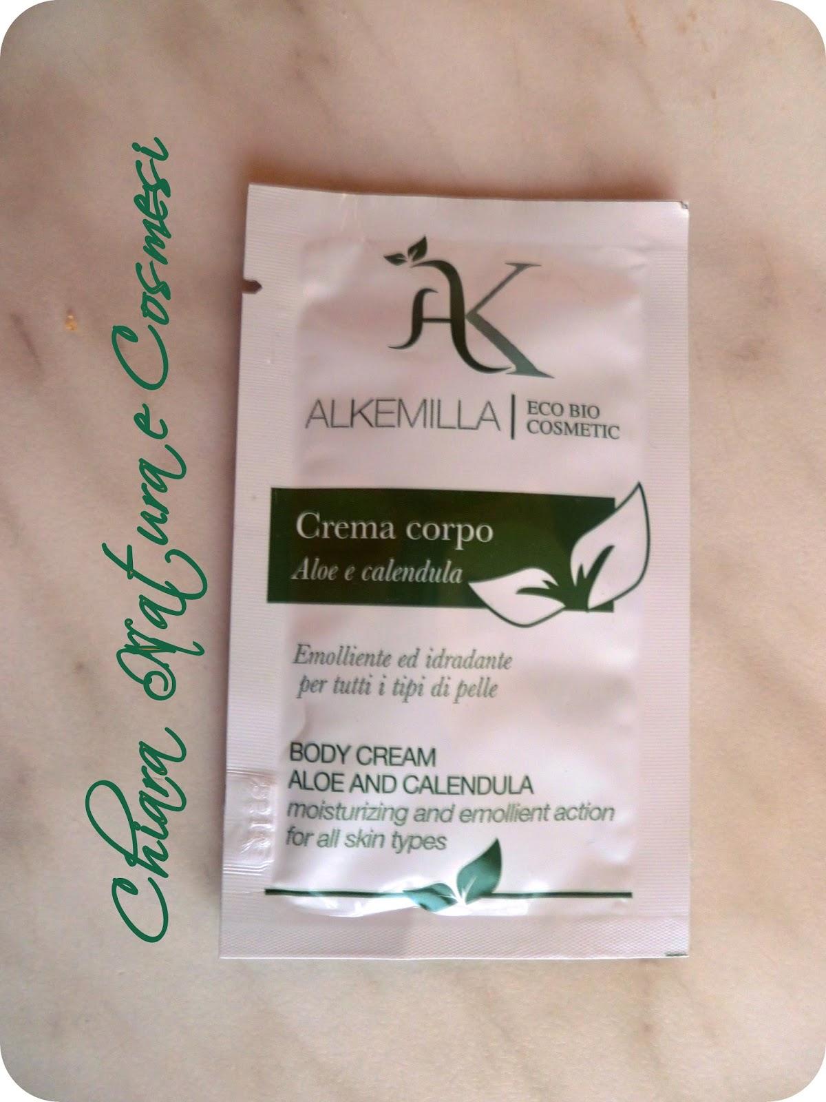 Chiara natura e cosmesi alkemilla crema corpo aloe e for Tipi di aloe