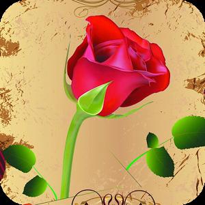 ေမာင္ကေတာ့ ႏွင္းဆီပန္း  ႏွင္းဆီပန္း ေပးမယ္ခ်စ္သူ- Rose Live Wallpaper v1.4Apk