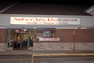 Entrance to Amber Li's Restaurant in Green, OH