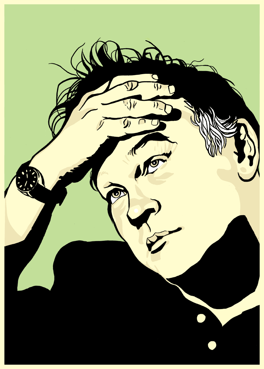 Stewart Lee Illustration