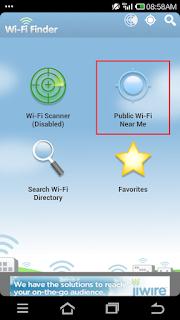 Hotspot WiFi Gratis | Andromin