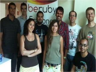 beruby internacional foto equipo cumpleaños 2 años