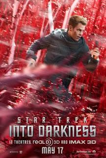 Cartel y segundo tráiler de 'Star Trek: En la oscuridad', de J. J. Abrams, con Chris Pine, Zoe Saldana, Zachary Quinto, Karl Urban y John Cho. 'Star Trek: into Darkness