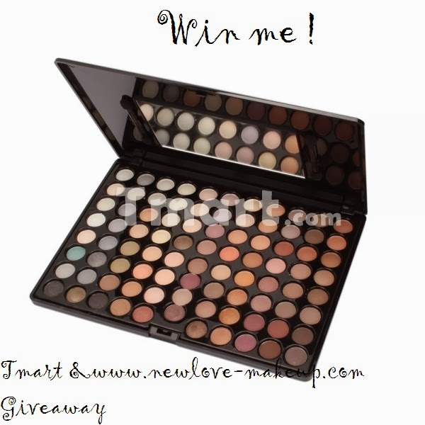 Win 88 Colors Warm Eyeshadow Palette
