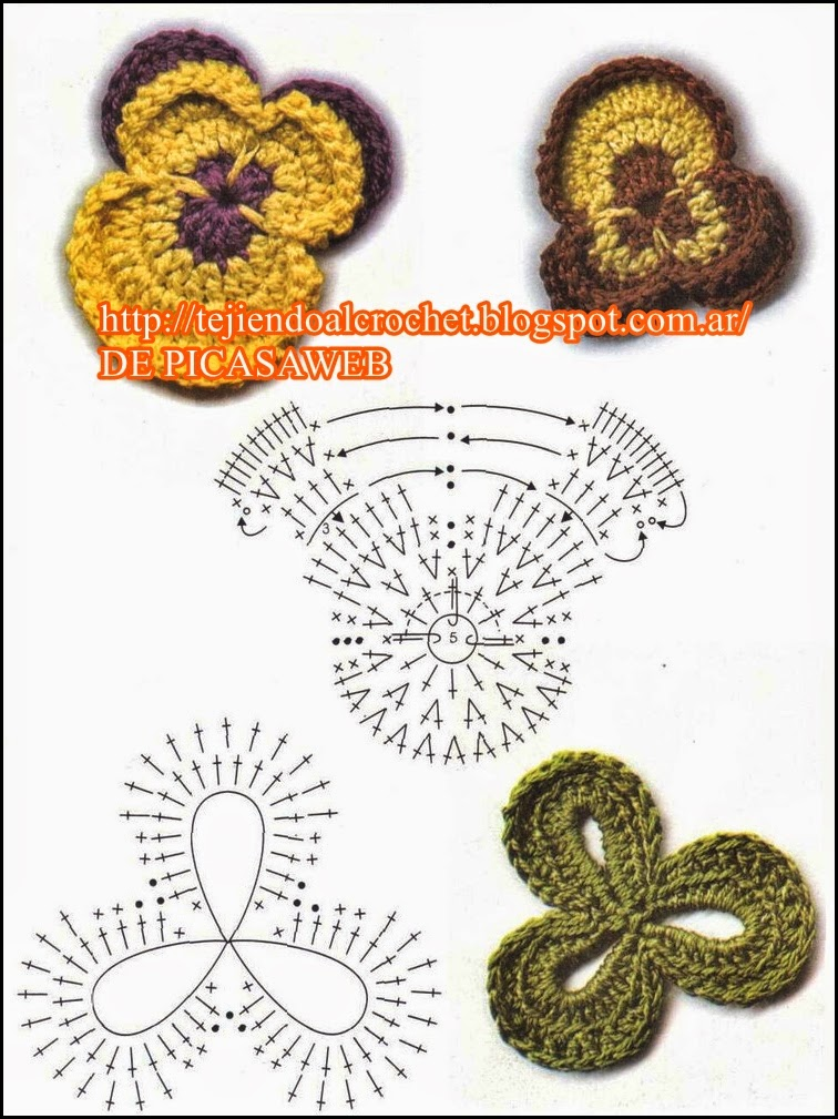 PATRONES - CROCHET - GANCHILLO - GRAFICOS: abril 2015