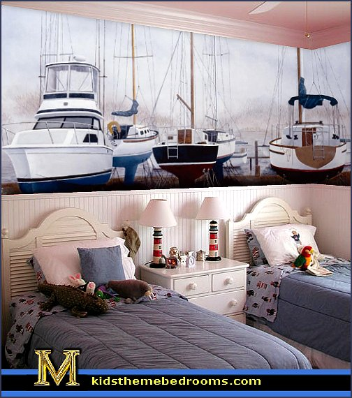 nautical bedroom ideas sailing ships wall mural nautical bedroom ideas