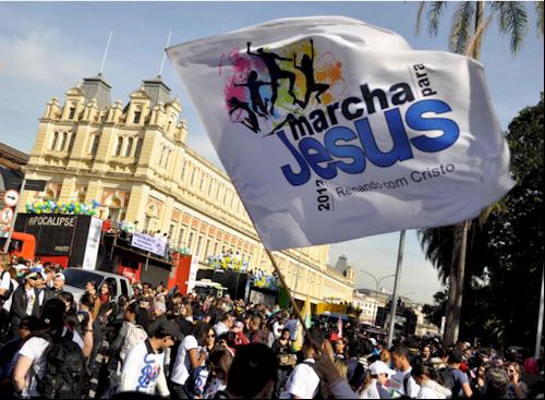 Marcha para Jesus de 2012 em São Paulo