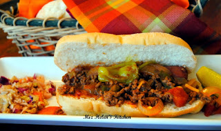 Slow Cooker Chili Dogs  from Miz Helen's Country Cottage
