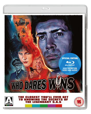 Who Dares Wins Blu-ray Poster